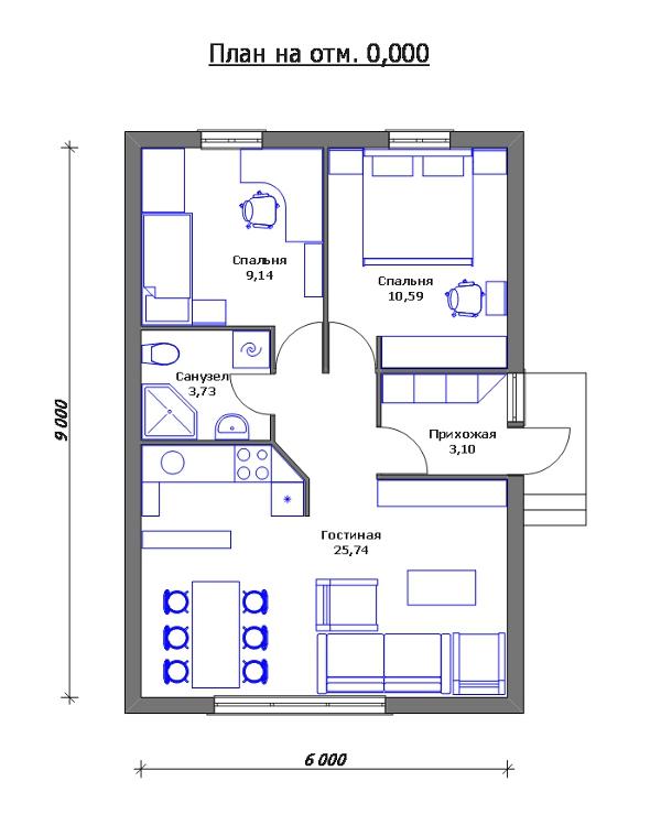 Как сделать свой проект каркасного дома